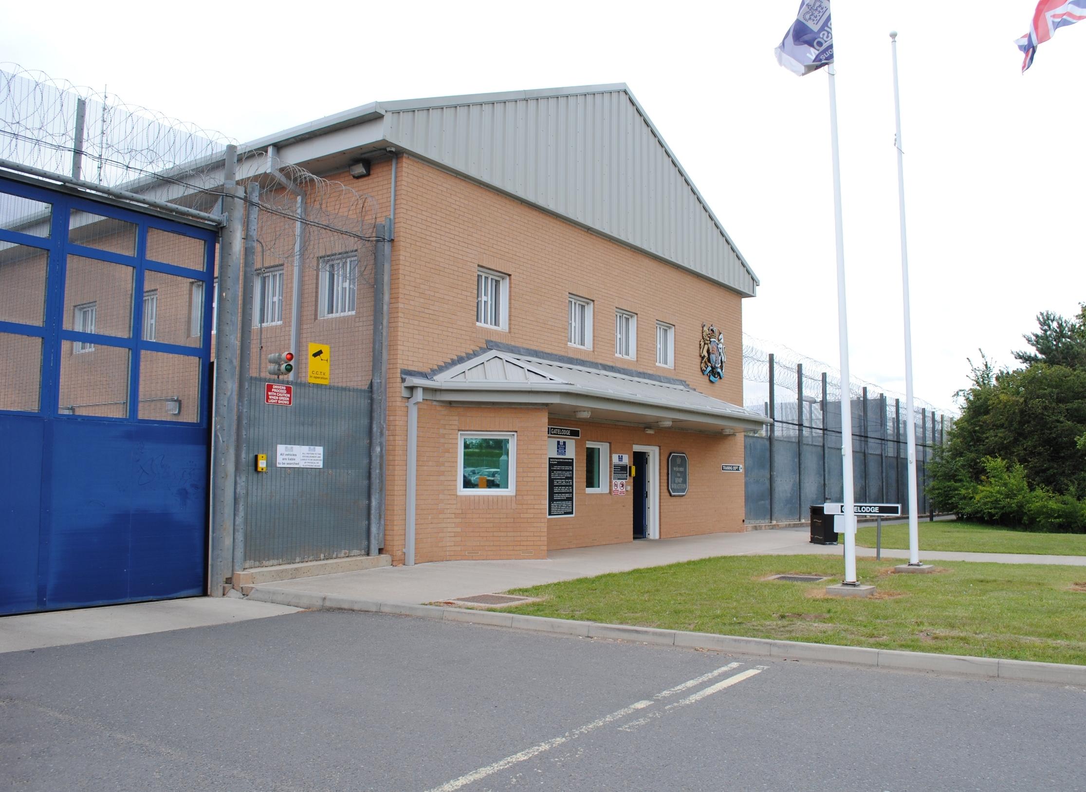 Gate house at HMP Whatton