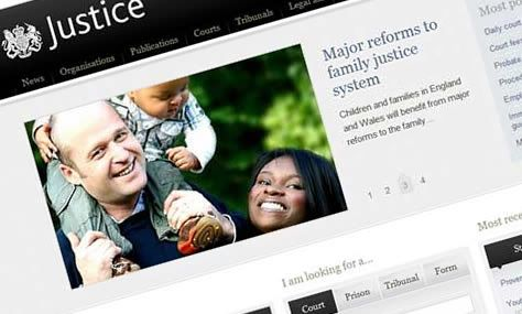 The Justice website